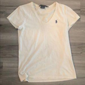 White polo Ralph Lauren T-shirt